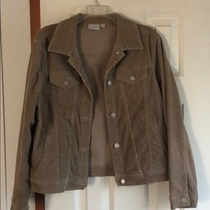 Corduroy Jean jacket